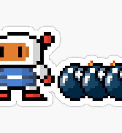 Bomberman pixel Sticker