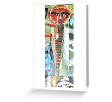 detail soul are shaman from urban vibes Greeting Card