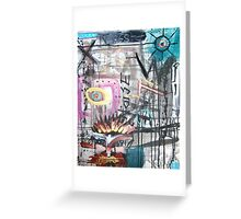 passion and compassion Greeting Card