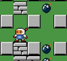 Bomberman Pixel Case by Jimzydoodah