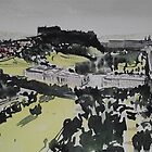 Edinburgh Castle and Princes Street by Ross Macintyre