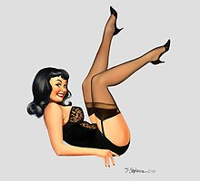 High Stepper - Pin Up Girl by Fiona Stephenson