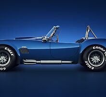 Shelby Cobra 427 - Water Snake by Marc Orphanos
