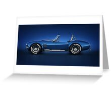 Shelby Cobra 427 - Water Snake Greeting Card