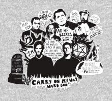 Supernatural Quotes Kids Clothes