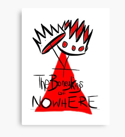 The Boney Kings of Nowhere Crowns Canvas Print