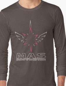 MAS Shirt (Full Wireframe +Text) Long Sleeve T-Shirt