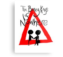 The Boney Kings of Nowhere Red Triangle Metal Print