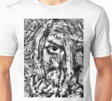 cover my face Unisex T-Shirt