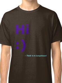 Hi :) (Blue) Classic T-Shirt