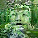 The green man&#x27;... by Valerie Anne Kelly