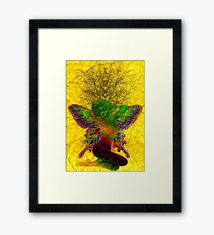 Troublesome Things Framed Print
