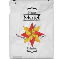 House Martell - Stained Glass iPad Case/Skin