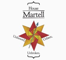 House Martell - Stained Glass by Jack Howse