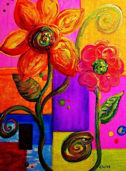 FANTASY FLOWERS by EloiseArt