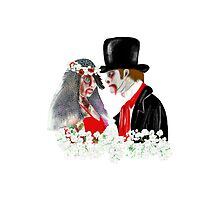 Zombie Bride and Groom Art by LeahG by Cartoonistlg