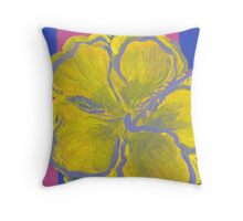 The Flower Popped Throw Pillow