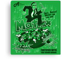 Matrix Cereal Canvas Print
