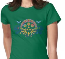 Zelda Nouveau Womens Fitted T-Shirt