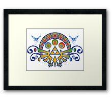 Zelda Nouveau Framed Print