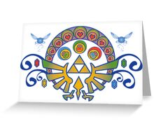 Zelda Nouveau Greeting Card
