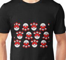 Pokemon Poke Ball Print Unisex T-Shirt