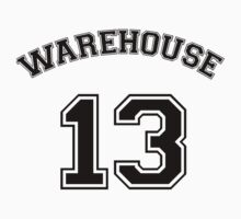 Warehouse 13 sports shirt by UtherPendragon