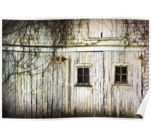Rural Windows Poster