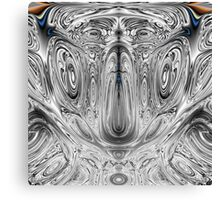 Distorted Faces Canvas Print