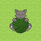 Green Ball Cat by BillyBones