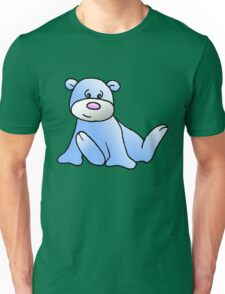 Blue Teddy bear Unisex T-Shirt