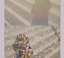 Abstract - Shadows on Stairs by ZoeKay