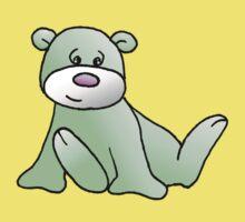 Green Teddy Bear Kids Clothes
