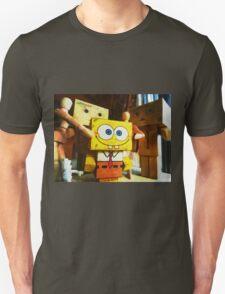 SpongeBob always loves the group hugs Unisex T-Shirt