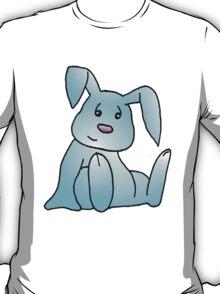 Turquoise Bunny Rabbit T-Shirt