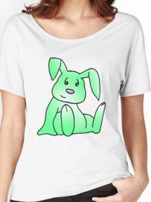 Green Bunny Rabbit Women's Relaxed Fit T-Shirt