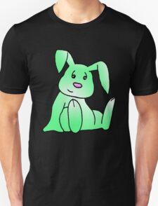 Green Bunny Rabbit Unisex T-Shirt