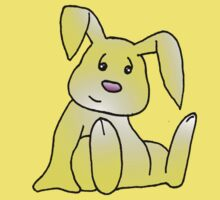 Yellow Bunny Rabbit by jkartlife