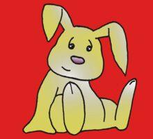 Yellow Bunny Rabbit Baby Tee