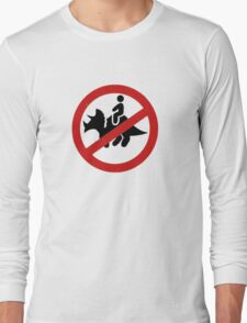 No Dinosaurs Long Sleeve T-Shirt