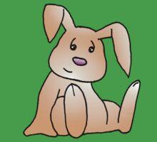 Orange Bunny Rabbit One Piece - Short Sleeve
