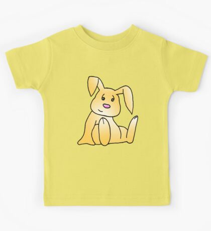 Brown Bunny Rabbit Kids Tee