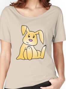 Brown Bunny Rabbit Women's Relaxed Fit T-Shirt