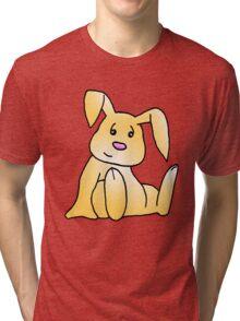 Brown Bunny Rabbit Tri-blend T-Shirt