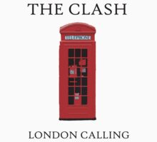 The Clash - London Calling by razaflekis