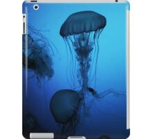 Portrait of a Jellyfish- Blue iPad Case/Skin