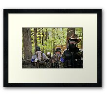 Howdy Framed Print