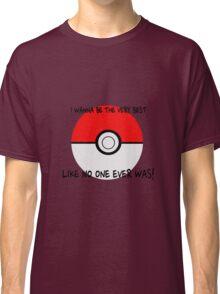 Pokemon Ball Theme Song  Classic T-Shirt