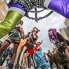 The Champagne Anarchists anti fashion show #BrightonFringe  by Heather Buckley