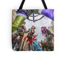 The Champagne Anarchists anti fashion show #BrightonFringe  Tote Bag